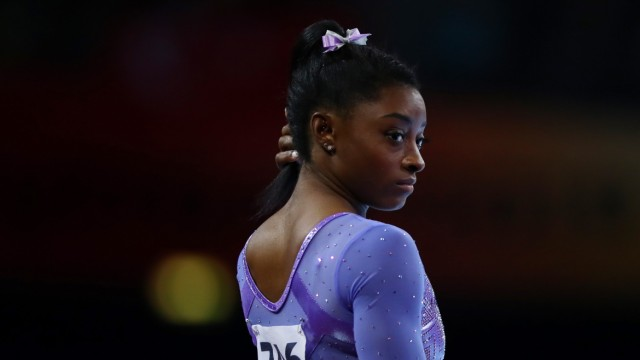 Simone Biles (USA), OCTOBER 13, 2019 - Artistic Gymnastics : The 2019 Artistic Gymnastics World Championships, Women s A; Simone Biles, Missbrauch, Turnen, Stuttgart