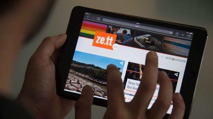 Neues Online Magazin - 'Zett'