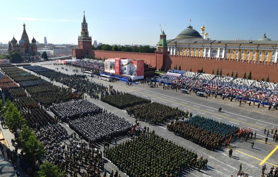 75. Jahrestag zum Sieg über Hitler-Deutschland in Moskau