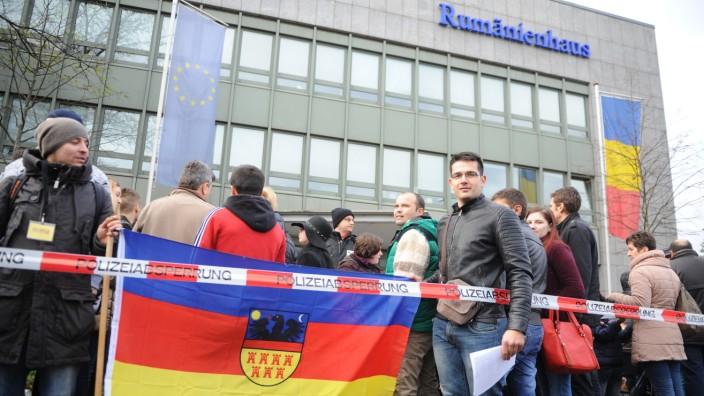 Rumänen Arbeiter München