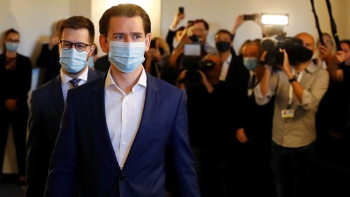 Österreich: Bundeskanzler Sebastian Kurz erscheint vor dem Untersuchungsausschuss zur Ibiza-Affäre