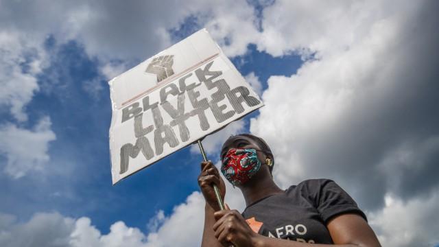 Proteste gegen Rassismus - Leeds