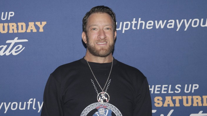 Barstool Sports Dave Portnoy at the Wheels Up Super Saturday Tailgate on February 2 2019 in Atlanta
