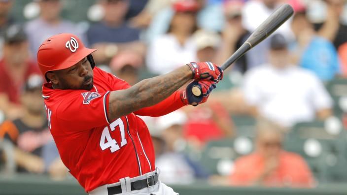 """MLB: Howie Kendrick von den """"Washington Nationals"""""""