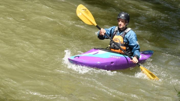 """Freizeitsport: Jocki Langbein freut sich darauf, wenn er den Ländkanal nicht mehr """"einfach nur runterfahren"""" kann."""