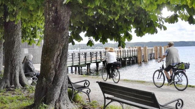Tutzing Starnberger See, Dampfersteg