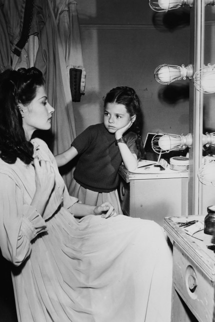Yvonne De Carlo And Beverly Simmons