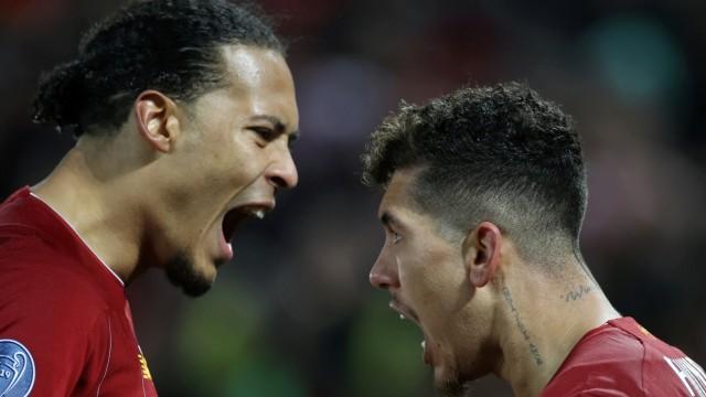 FC Liverpool: Virgil van Dijk und Firmino gegen Atletico Madrid