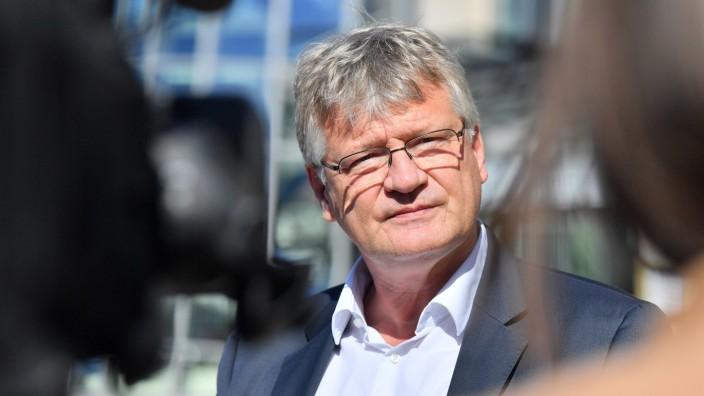 Jörg Meuthen bei einer Sitzung des AfD-Bundesvorstands