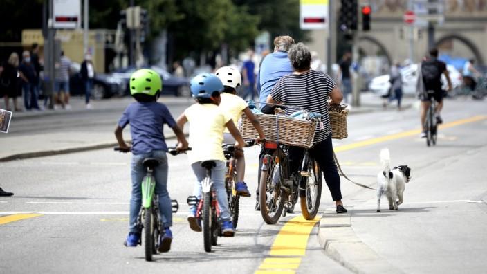 Pop-up-Radwege: Die ersten Pop-up-Radwege sind markiert.