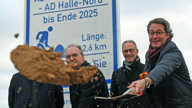Ausbau für Autobahn A143 gestartet