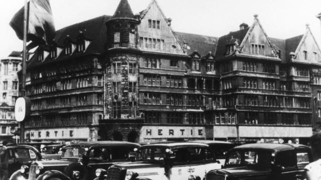 Kaufhaus Hertie in München, 1935 falsch, Nachkriegszeit