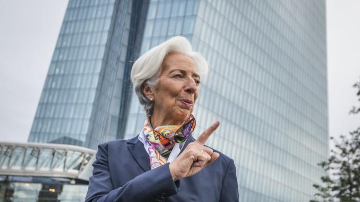 *** BESTPIX *** Christine Lagarde Begins Work As New ECB President
