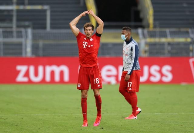 Fussball: 1. Bundesliga: Saison 19/20: 28. Spieltag, 26.05.2020, BVB,Borussia Dortmund - FC Bayern München, Leon GORETZ; Goretzka