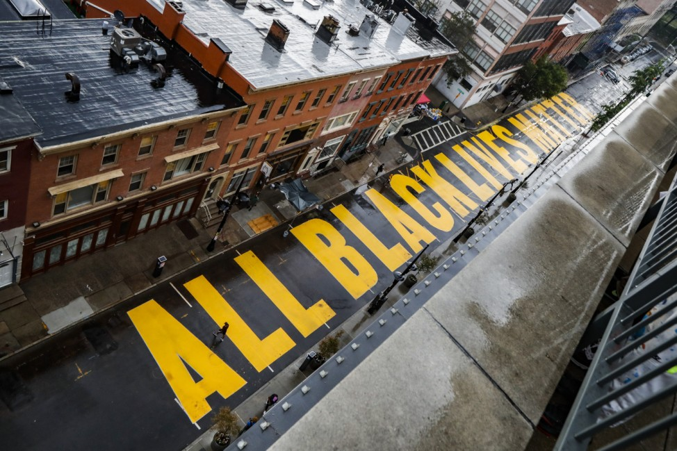 Proteste gegen Rassismus - Newark