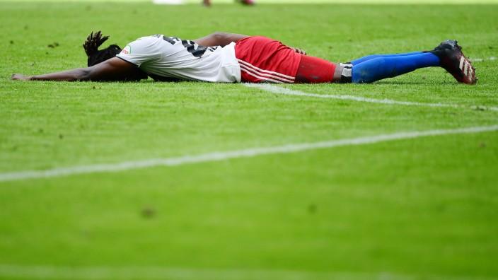 Hamburger SV - SV Sandhausen Fußball, 2. Bundesliga 2019/20, Hamburger SV - SV Sandhausen: Verletzung, Gideon Jung (HSV; HSV