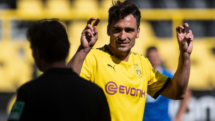 Borussia Dortmund: BVB-Abwehrchef Mats Hummels im Spiel gegen 1899 Hoffenheim