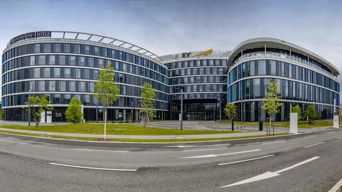 DEU Deutschland Baden Württemberg Stuttgart 26 04 2019 Bürogebäude SkyLoop am Flughafen Stuttg