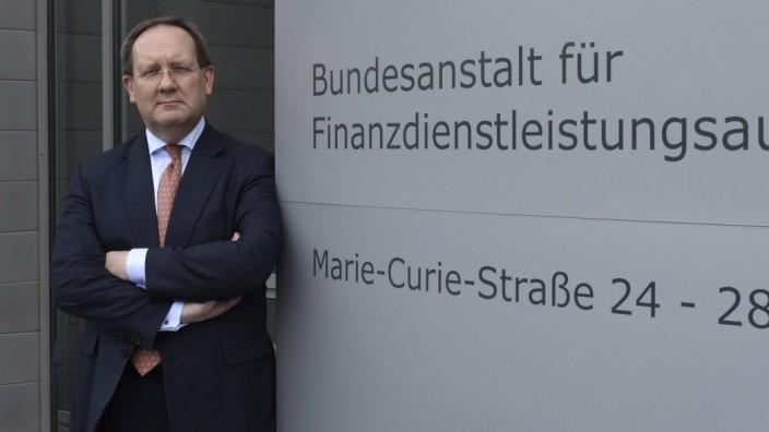 Bafin-Chef Felix Hufeld 2015 in Frankfurt