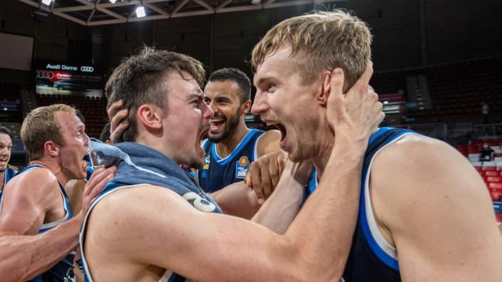 Basketball easyCredit BBL Final-Turnier Basketball München 28.06.2020 Saison 2019 / 2020 easyCredit BBL Final-Turnier 2