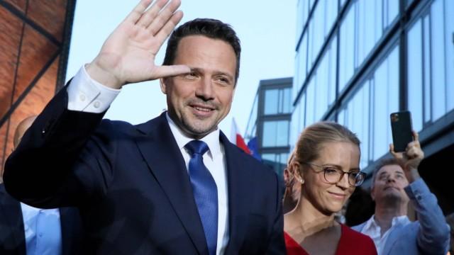 Presidential election 2020 in Poland. Rafal Trzaskowski s electoral evening Presidential election 2020 in Poland. Rafal