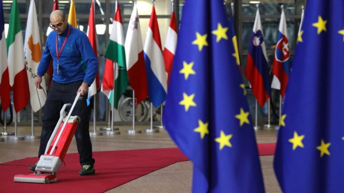 European Council Leaders Meet in Brussels