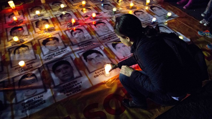 missing students, Mexico City