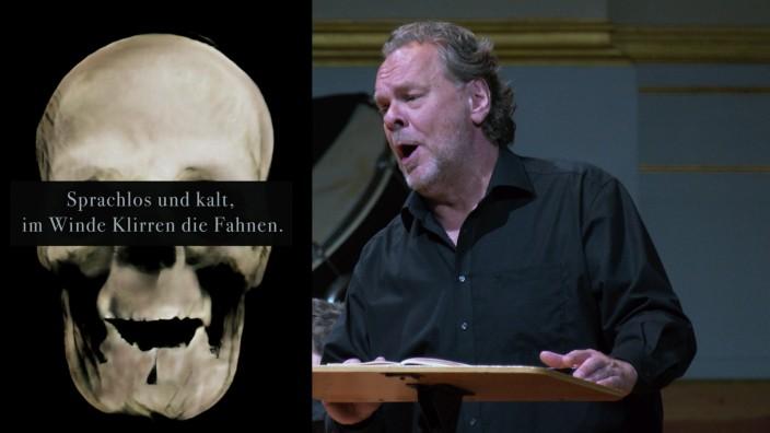 """Der Sänger Michael Volle  - Internet-Projekt """"Die liebe Erde allüberall"""""""
