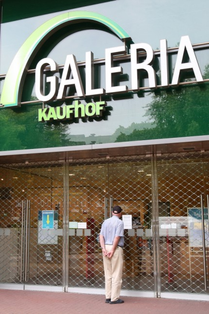 Galeria Karstadt Kaufhof schließt Filialen