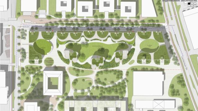 Visualisierungen Architektenwettbewerb