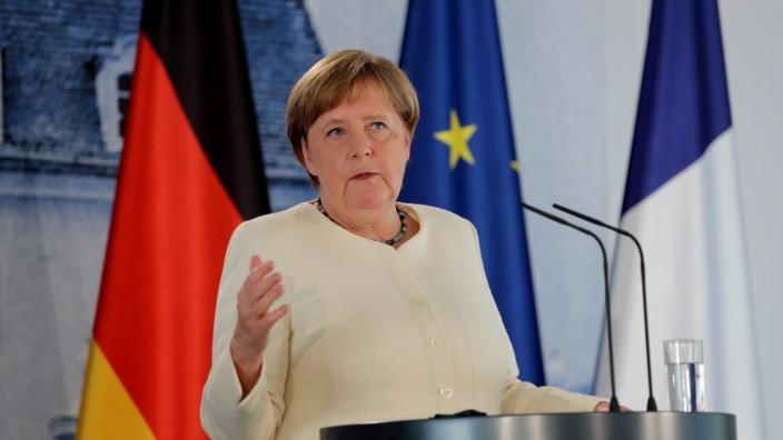 Bundeskanzlerin Angela Merkel 2020 in Meseberg