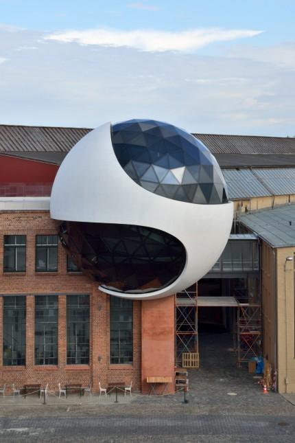 Niemeyer Sphere Leipzig