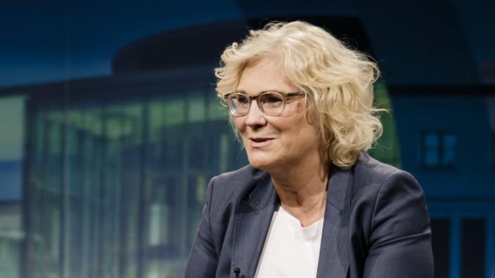 Bundesministerin der Justiz und für Verbraucherschutz, Christine Lambrecht (SPD)