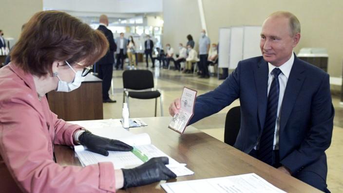 Verfassungsreform Russland Putin