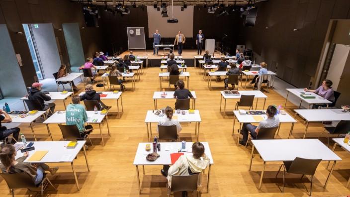 Coronavirus - Bayern Abiturprüfung