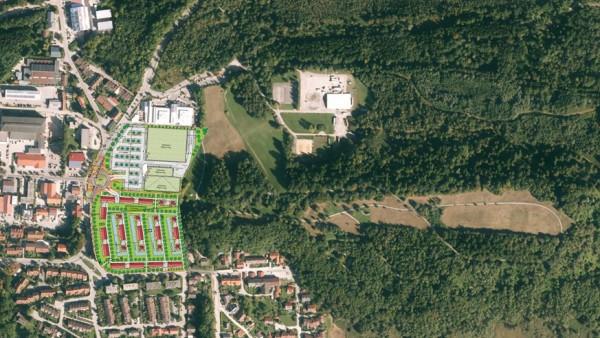 Penzberg Edeka-Areal Planung Wohnen