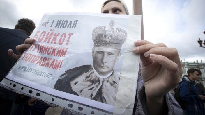 Russland Abstimmung Verfassung