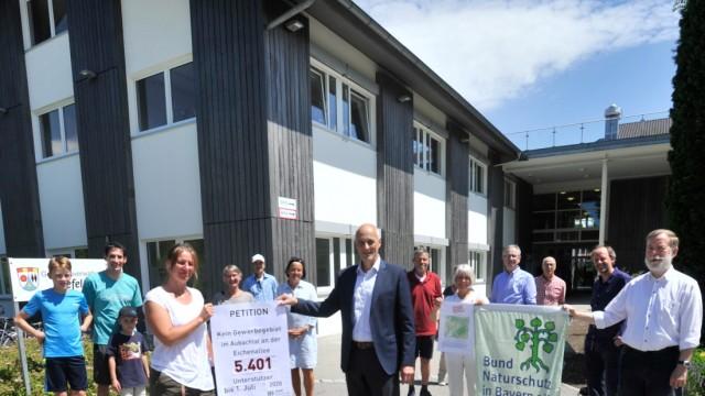 Seefeld: Petition : Kein Gewerbegebiet im Aubachtal