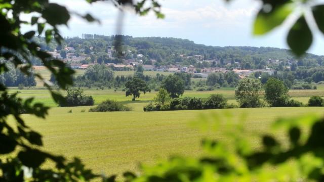 Seefeld: Aubachtal mit Blick auf Seefeld