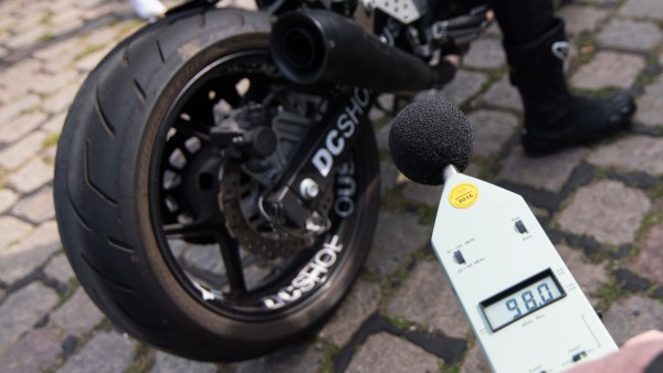 Motorradlärm