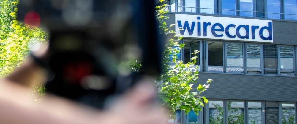 Staatsanwaltschaft bei Wirecard / Journalisten stehen vor Insolventer Konzern Wirecard in Aschheim bei München / Datum: