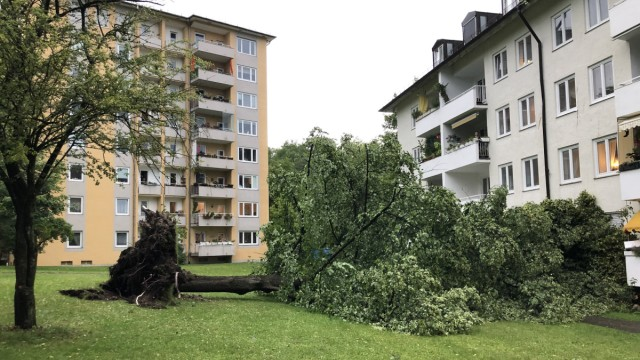 Gewittern in Oberbayern