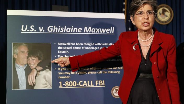 Epstein: Staatsanwältin Audrey Strauss äußert sich zur Festnahme von Ghislaine Maxwell