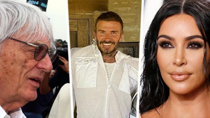 Promis der Woche - Bernie Ecclestone, David Beckham, Kim Kardashian