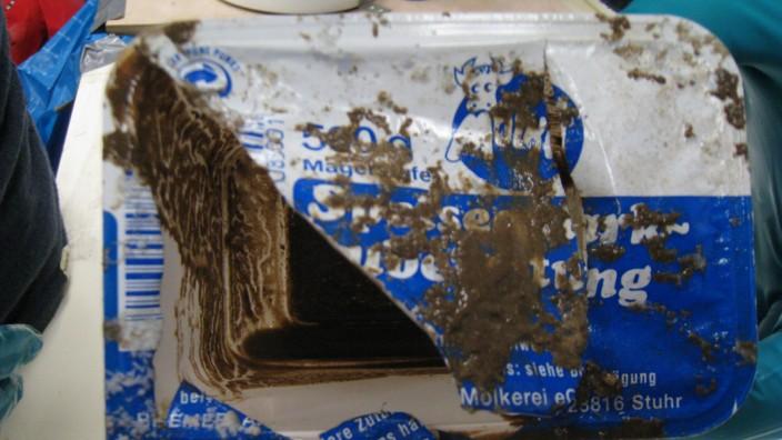 Plastikmüll aus der Tiefsee