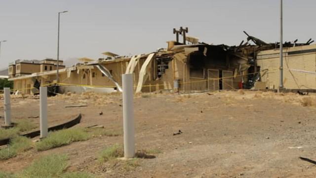 Iran: Auf dem Gelände der Urananreicherungsanlage von Natans gut 300 Kilometer südlich von Teheran hat es in der Nacht zum Donnerstag gebrannt.