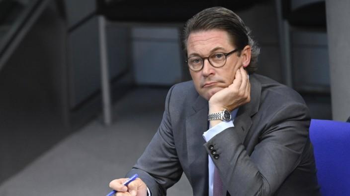 Andreas Scheuer bei der 170. Sitzung des Deutschen Bundestages im Reichstagsgebäude. Berlin, 02.07.2020 *** Andreas Sch