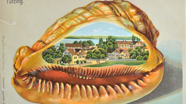 Ansichtskarte Tutzing von 1902
