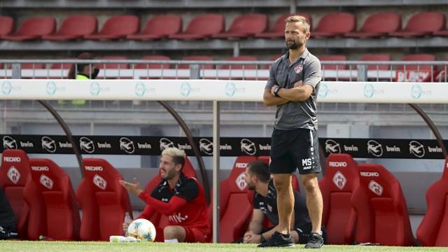 3. Liga; FC Wuerzburger Kickers - FC Hansa Rostock; 27.06.2020 Michael Schiele (Cheftrainer FC Wuerzburger Kickers), 3.; Fußball - Würzburger Kickers Trainer Michael Schiele
