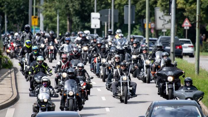 Demonstration gegen drohende Fahrverbote am Wochenende - München